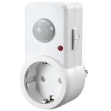 Detector de movimiento con clavija enchufable 120º 1200W EDM