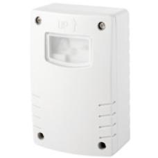 Interruptor crepuscular fotoeléctrico compatible con Led IP4 mod. Luxo Elecman