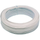 Rollo 100 metros cable paralelo blanco (polarizado) 2x1mm