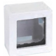 Caja superficie Simon 27 1 a 3 elements blanco (a elegir)