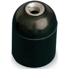 Portalámparas baquelita negro E-27 4A 250V GSC