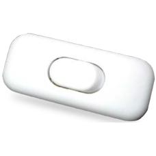 Interruptor de paso 2A 250V  para lámparas o flexos color blanco ó negro (a elegir) GSC