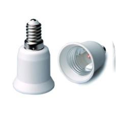 Adaptador conversor de casquillo rosca E14 a E27 GSC 2201336