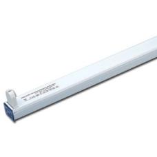 Luminaria regleta de aluminio electrónica12V conexión a bateria para tubo fluorescente 18W