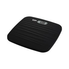 Bascula baño digital base rugosa negra max. 180kg edm