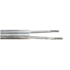 Cable manguera plana pvc 2x0,75mm euro/mts