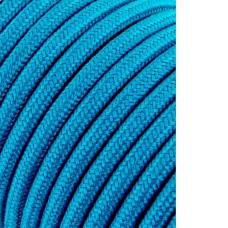 Cable cordon tubulaire 2x0,75mm c68 azul claro 5mts