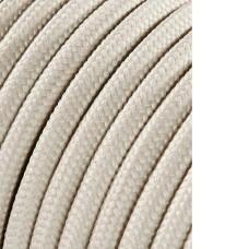 Cable cordon tubulaire 2x0,75mm algodon 25mts euro/mts