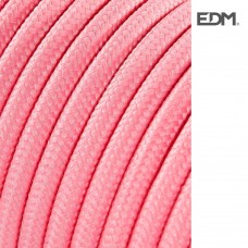 *ult. unidades* cable cordon tubulaire  2x0,75mm c70 rosa 25mts euro/mts