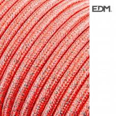 *ult. unidades* cable cordon tubulaire 2x0,75mm rosa brillante 25mts euro/mts