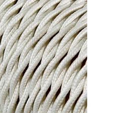 Cable textil trenzado 2x0,75mm algodon  euro/mts