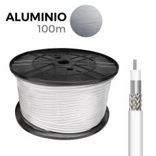 Cable coaxial apantallado aluminio edm  euro/mts