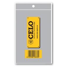 *merchandising* pack 50 uni. bolsa grande celo 10,5x15,5cm