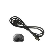 Cable alimentador para portatil negro 2mts edm