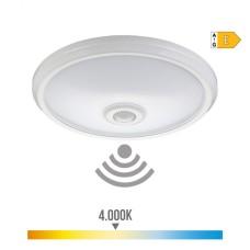 Aplique de superficie con sensor y luz de emergencia ip20 1100 lumens 16w 30 leds 4.000k luz dia edm