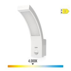 Aplique exterior led 10w  750  lumen 4.000k con sensor