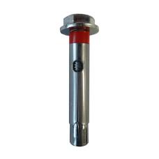 Anclaje de acero lp 6.8 zincado blanco 10x100mm 12 ø
