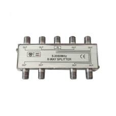 *ult.unidades* separador 1 entrada 8 salidas 5-2050 mhz