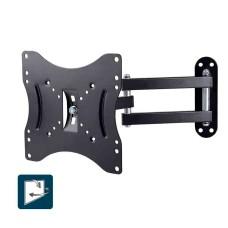 Soporte plasma/lcd/led de 23-42 pulgadas 25kg con brazo tri articulado edm