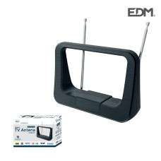 Antena uhf interior tv edm  470-862 mhz classic series 170x120x60mm