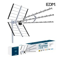 Antena uhf exterior tv edm 470-790 mhz professional series 1020mm