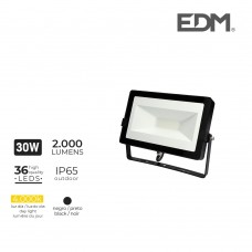 Foco proyector led  30w 4000k 2000 lumens