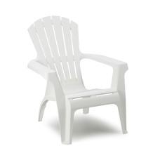 Butaca relax apilable color blanco ipae progarden