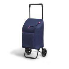 *ult. unidades* carrito de la compra argo blue 45l gimi 154354