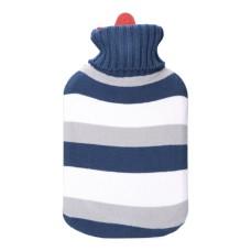 Bolsa de agua rayas azules 2l