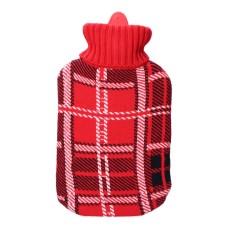 Bolsa de agua clasico escoces rojo 2l