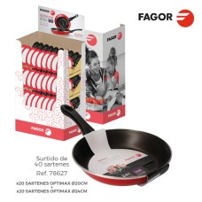 *s.of* expositor promocional sartenes optimax  fagor