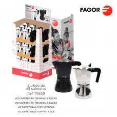 *s.of* expositor promocional cafeteras  fagor