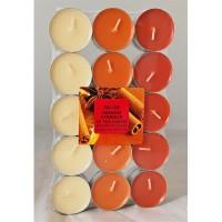 Velas perfumadas  naranja-canela 30uni. magic lights