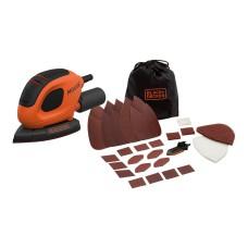 *s.of* lijadora de detalle mouse 55w  bew230bc-qs  black+decker