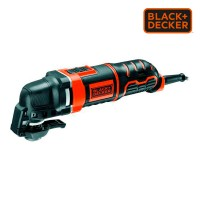 *s.of* multi-herramienta oscilante 300w  mt300ka-qs black+decker