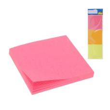 3 bloque de notas adhesivo (blister) 75x75mm