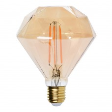 Bombilla decorativa led flat diamond edison 300 lumens