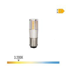 Bombilla bayoneta led 5.5w 3200k 230v 650lumens base ceramica  edm