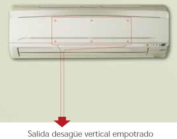 caja empotrar preinstalaci n de aire acondicionado sin