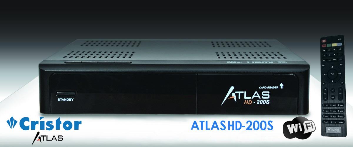 atlas hd 200s actualizar firmware sin usb